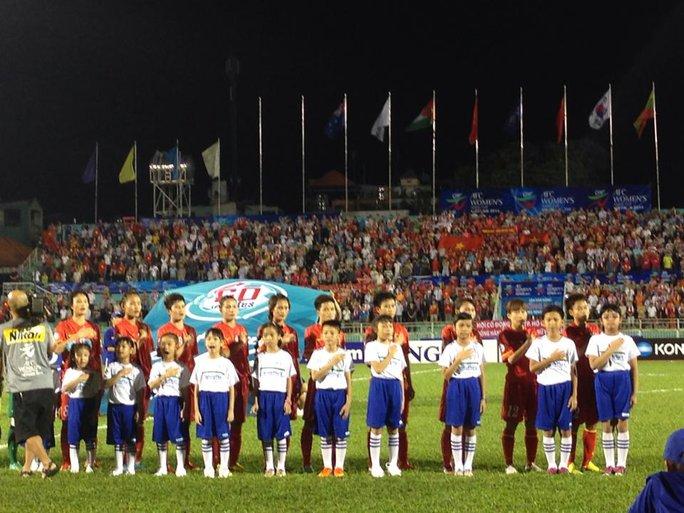 Đội hình ra sân của VN