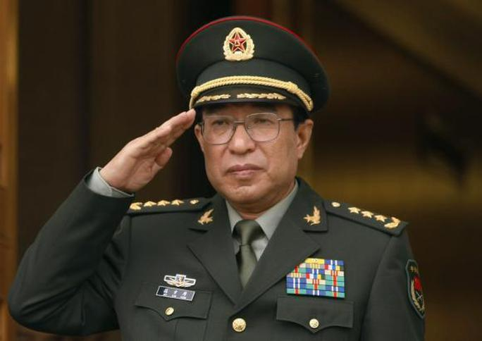 Tướng Từ Tài Hậu trong một chuyến thăm và làm việc tại Lầu Năm Góc - Mỹ năm 2009. Nguồn ảnh tư liệu: Reuters
