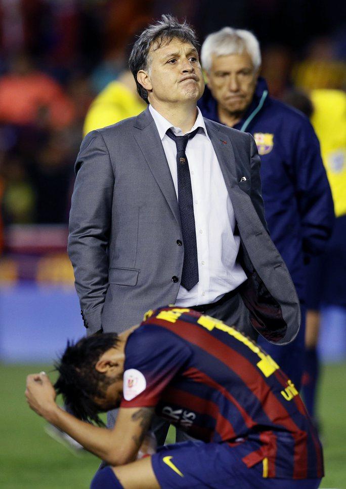 Neymar tiếp tục gây thất vọng cho HLV Martino