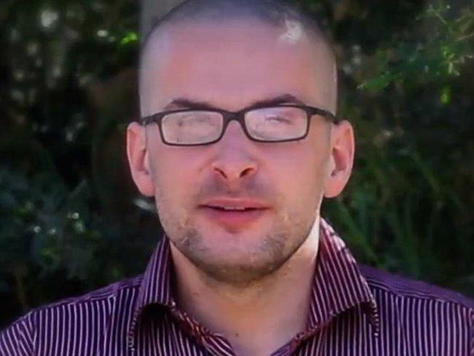 Nhà báo Mỹ Luke Somers. Ảnh: AP