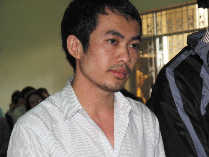 Bị cáo Nguyễn Thân Thảo Thành tại phiên tòa