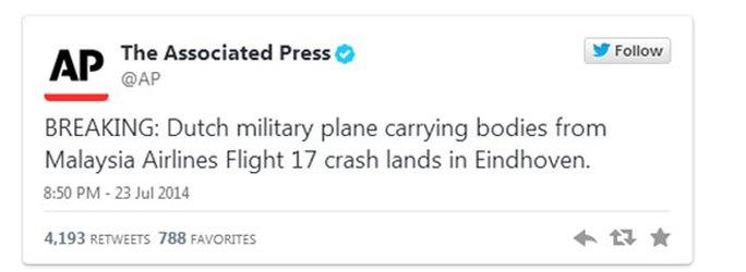 Náo loạn vì tin máy bay chở thi thể nạn nhân MH17 cũng gặp nạn!