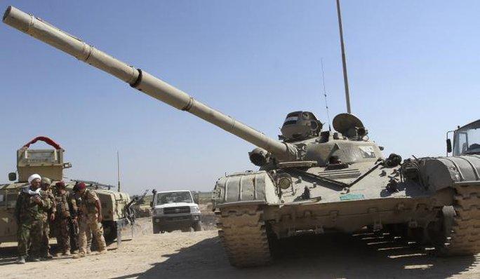IS bị đẩy lùi từng bước ở Iraq. Ảnh: Reuters