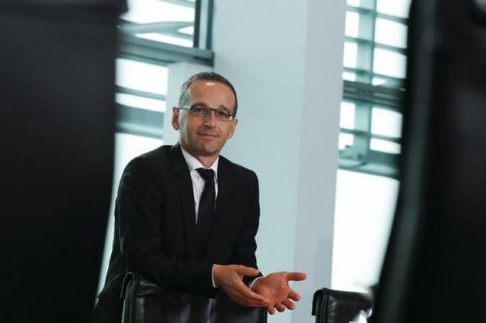 Bộ trưởng Tư pháp Heiko Maas. Ảnh: Reuters