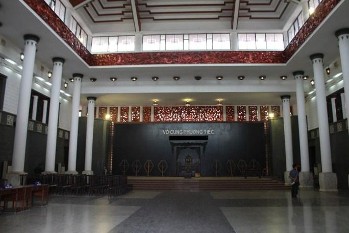 Nhà tang lễ quốc gia nơi sẽ tổ chức lễ viếng cho Thượng tướng Phạm Quý Ngọ