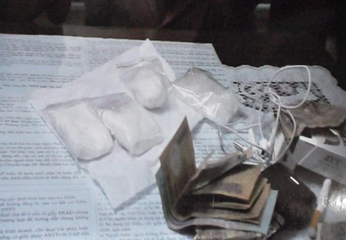 Số ma túy của đường dây mua bán ma túy vừa bị Công an quận Bình Thạnh - TP HCM, bắt giữ.