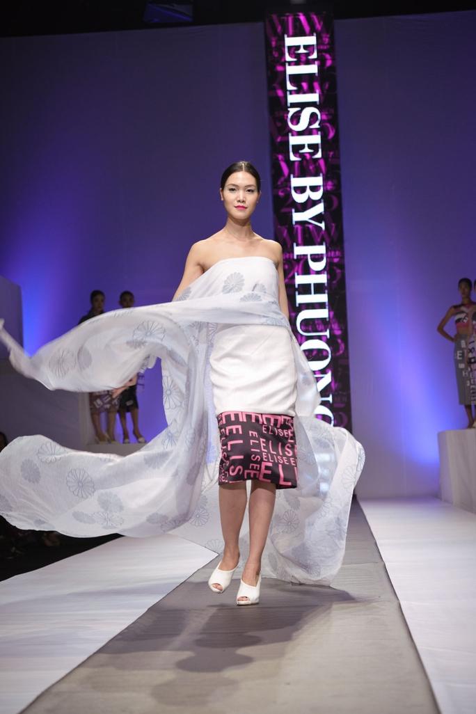 Thùy Dung xinh đẹp, Hoàng Yến xuống sắc tại Tuần lễ thời trang xuân hè