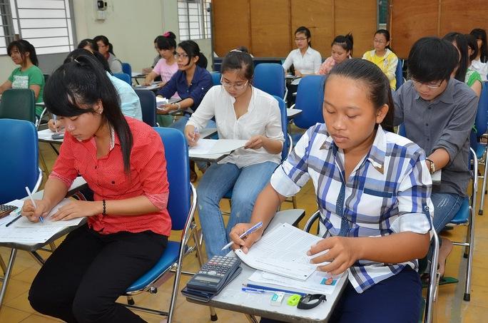 Ngày 17-3, bắt đầu nhận hồ sơ đăng ký dự thi ĐH-CĐ