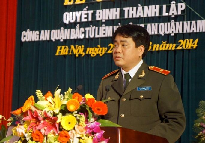 Thiếu tướng Nguyễn Đức Chung, Giám đốc Công an Hà Nội