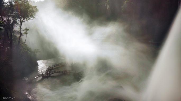 Phơi sáng thác nước bằng camera điện thoại
