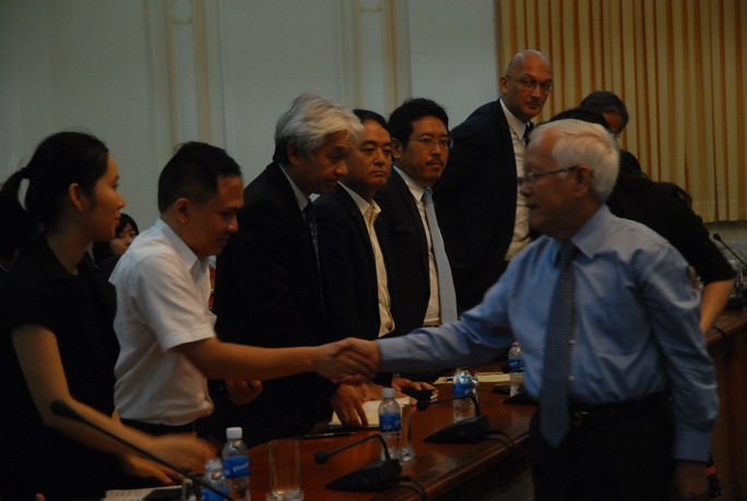 Chủ tịch UBND TPHCM gặp gỡ các DN nước ngoài đang làm việc tại TP HCM.