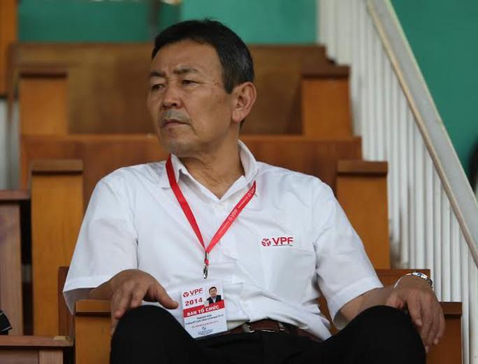 Trưởng giải V-League người Nhật Bản Koji