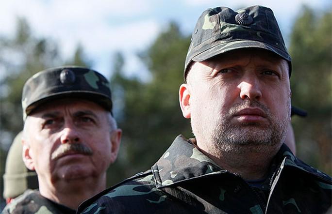 Quyền tổng thống Ukraine Oleksandr Turchynov. Ảnh: Reuters