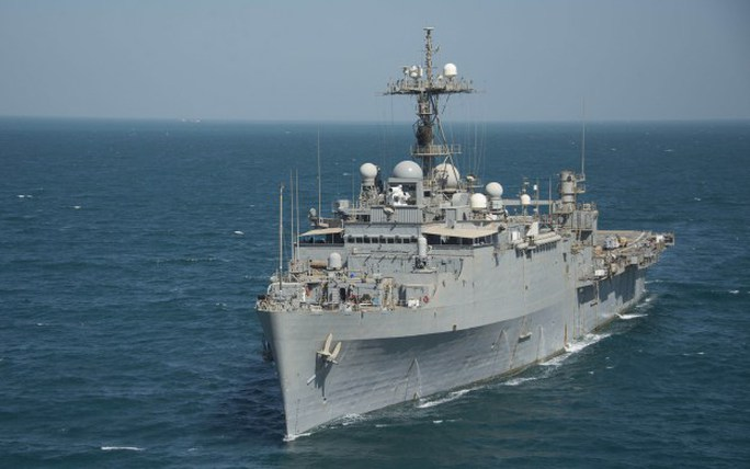 Tàu USS Ponce. Ảnh: US Navy