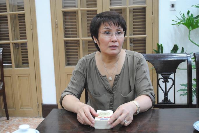 Bà Phan Thị Kim Dung, Giám đốc Thư viện Quốc gia Việt Nam