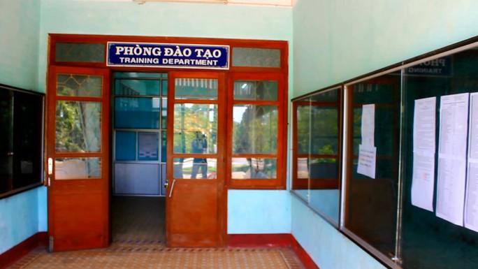 Phòng Đào tạo Trường ĐH Quy Nhơn - nơi xảy ra nghi án mua điểm