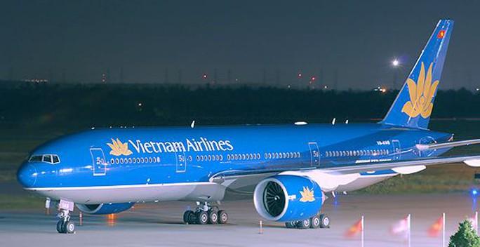 Máy bay Vietnam Airlines đi Seoul (Hàn Quốc) đã phải hạ cánh khẩn cấp xuống sân bay Đà Nẵng trong đêm. Ảnh minh hoạ