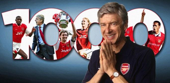 Sẽ có trận cầu thứ 1.000 đáng nhớ cho ông Wenger?