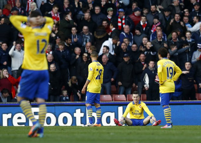 Nỗi thất vọng của các cầu Arsenal