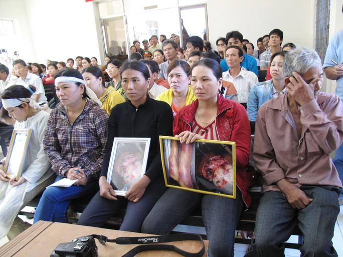 Gia đình người bị hại vô cùng đau lòng trước cái chết thương tâm của anh Ngô Thanh Kiều