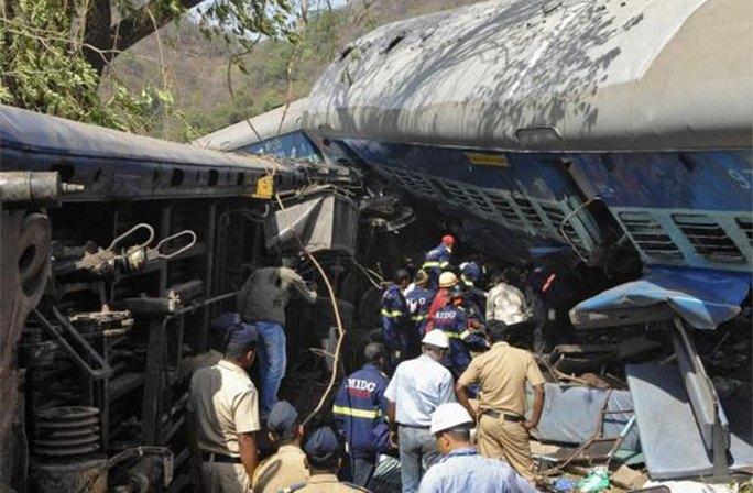 Hiện trường vụ tai nạn. Ảnh: Reuters