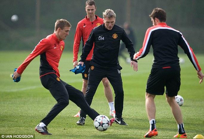 Các cầu thủ M.U sẽ có trận đấu khó khăn trước Bayern