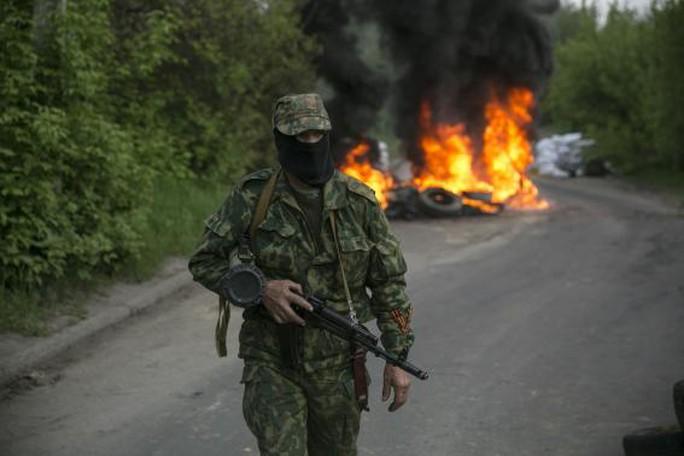 Căng thẳng leo thang ở miền Đông Ukraine. Ảnh: Reuters