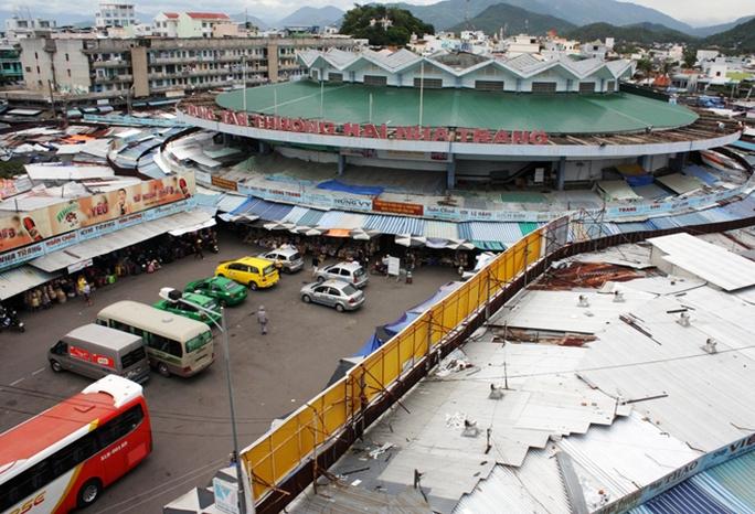 Kiến trúc hoa sen của chợ Đầm - Nha Trang