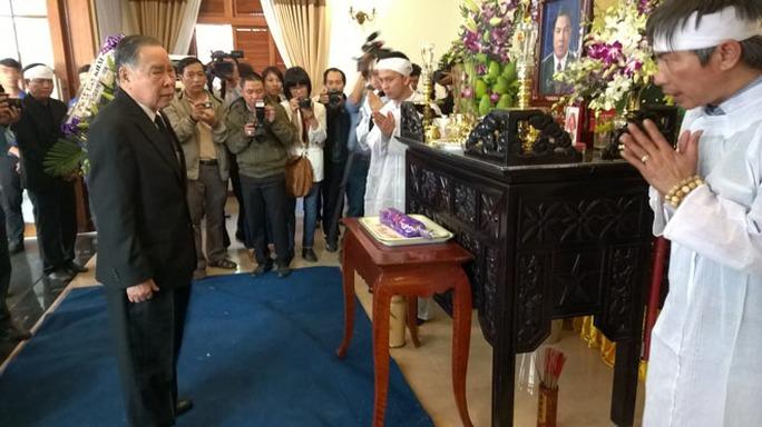 Nguyên Thủ tướng Chính phủ Phan Văn Khải chia buồn cùng gia đình ông Nguyễn Bá Thanh