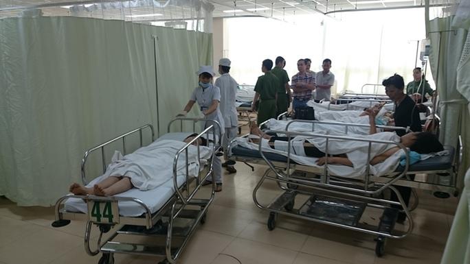 Những bệnh nhân nằm điều trị tại bệnh viện