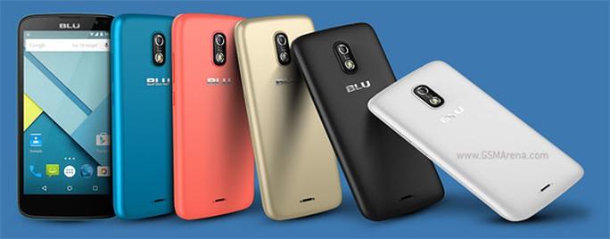BLU gây sốc với loạt smartphone cao cấp giá rẻ
