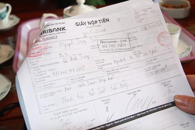 Truy tố nguyên phó chánh thanh tra sở nhận hối lộ