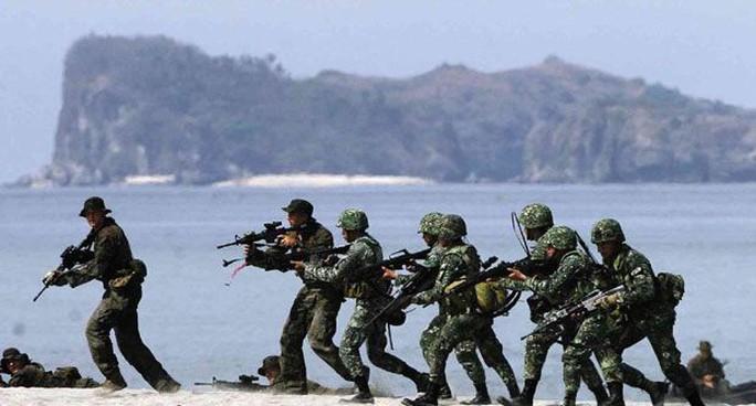 Tập trận Balikatan năm 2014. Ảnh: Inquirer