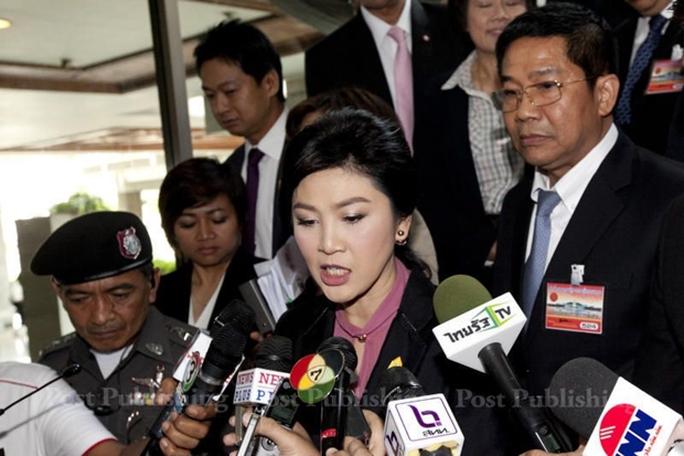 Bà Yingluck có thể đối mặt án tù 10 năm nếu bị kết tội. Ảnh: Bangkok Post