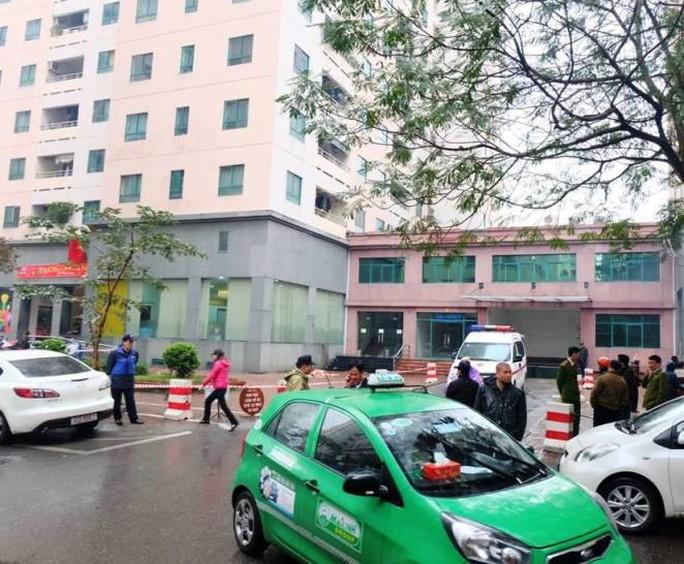 Toà nhà nơi xảy ra vụ tai nạn