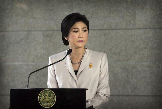 Cựu Thủ tướng Thái Lan Yingluck Shinawatra. Ảnh: AP
