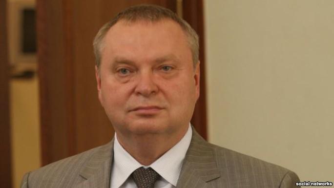 Cựu thống đốc Oleksandr Peklushenko. Ảnh: RFERL