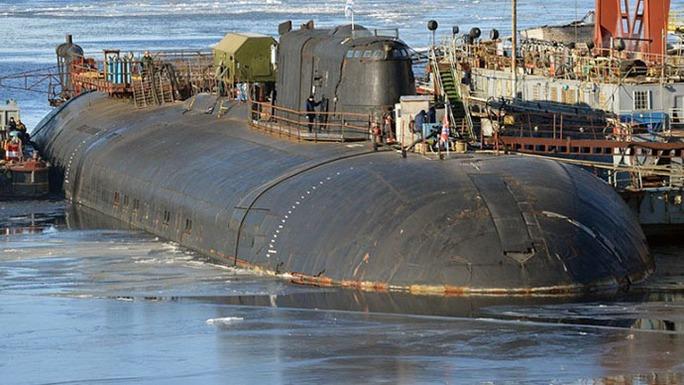Tàu ngầm hạt nhân K-266 Oryol. Ảnh: RT