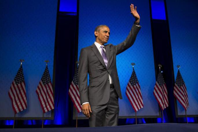 Tổng thống Obama đang điều chỉnh chiến lược chống IS. Ảnh: Reuters