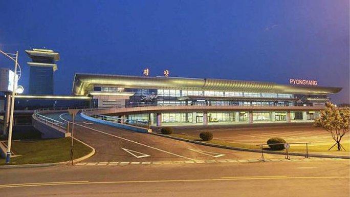 Toàn cảnh Sân bay Quốc tế Bình Nhưỡng. Ảnh: EPA