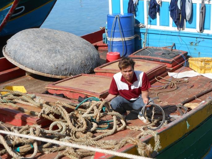 Một tàu cá ngư dân Lý Sơn bị tàu Trung Quốc cướp tài sản hai lần