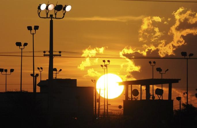 Căn cứ Mỹ ở Vịnh Guantanamo – Cuba. Ảnh: Bloomberg