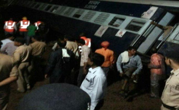 Hiện trường vụ tai nạn. Ảnh: NDTV