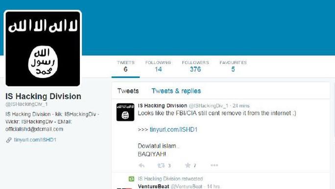 IS đưa bản danh sách lên mạng xã hội Twitter. Ảnh: Daily Telegraph