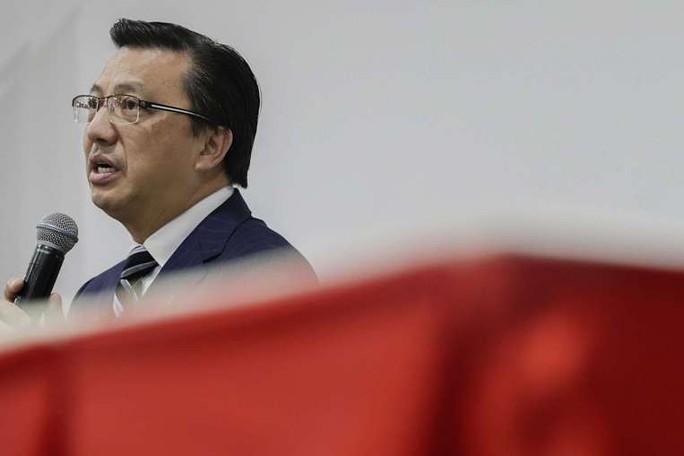 Bộ trưởng Giao thông vận tải Malaysia Liow Tiong Lai. Ảnh: EPA