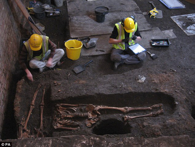 History uncovered: Experts say it's one of the largest medieval hospital cemeteries ever discovered in Britain