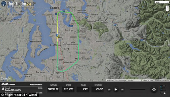 Emergency landing: The pilot turned back to Seattle 14 minutes into the flight when he heard screaming