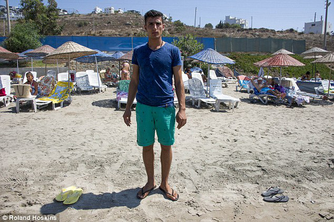 Adil Demirtas, 18,said he was profoundly affected by the discovery of the bodies on the beach yesterday