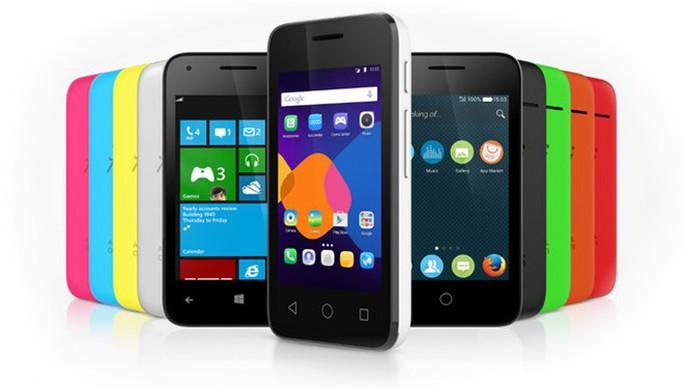 Alcatel Pixi 3, smartphone chạy đa nền tảng