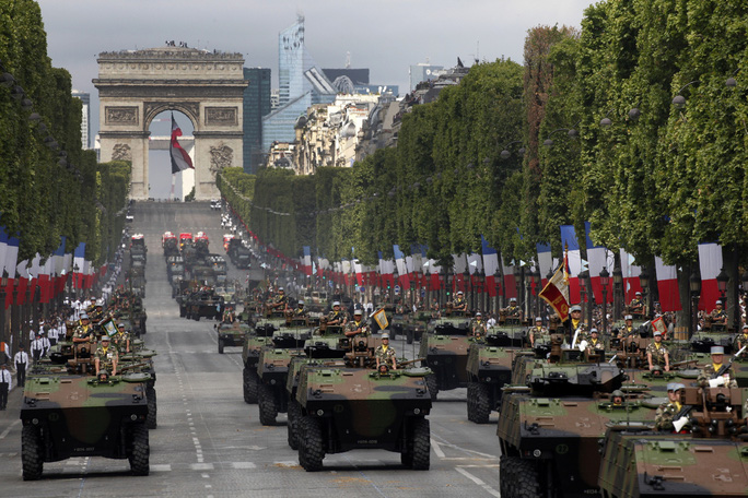 Bastille Day parade Paris France